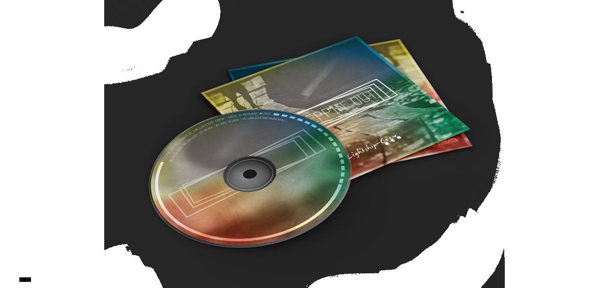 CD Cover + Label - Rune Fleiter - Medien- & Kommunikationsdesign Portfolio