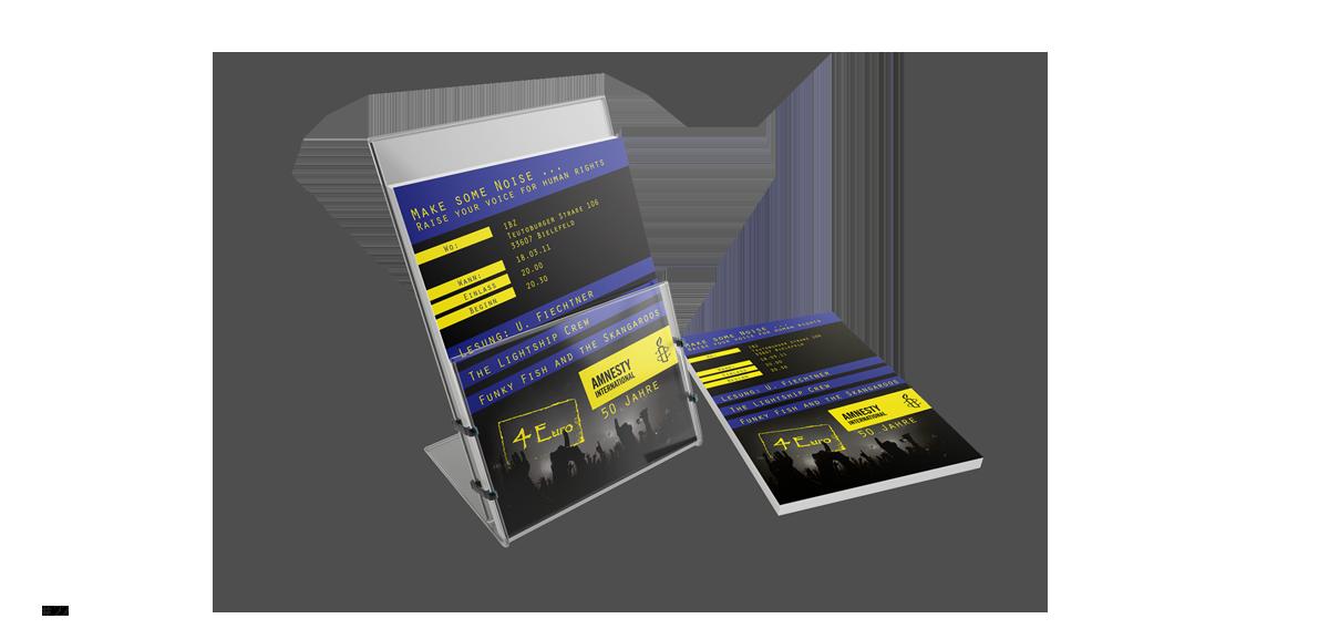 DIN A5 Flyer - Rune Fleiter - Medien- & Kommunikationsdesign Portfolio