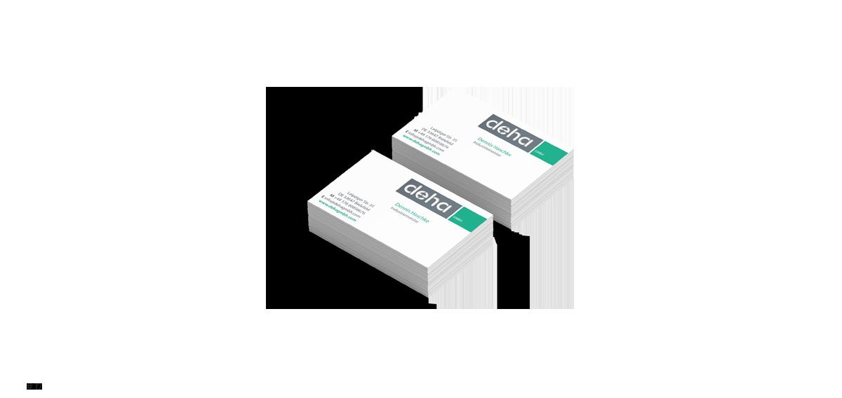 Visitenkarten Design + Laser Cut - Rune Fleiter - Medien- & Kommunikationsdesign Portfolio