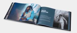 Photography Rune Fleiter - Medien- & Kommunikationsdesign Portfolio - Konzertfotografie Bildband Buch