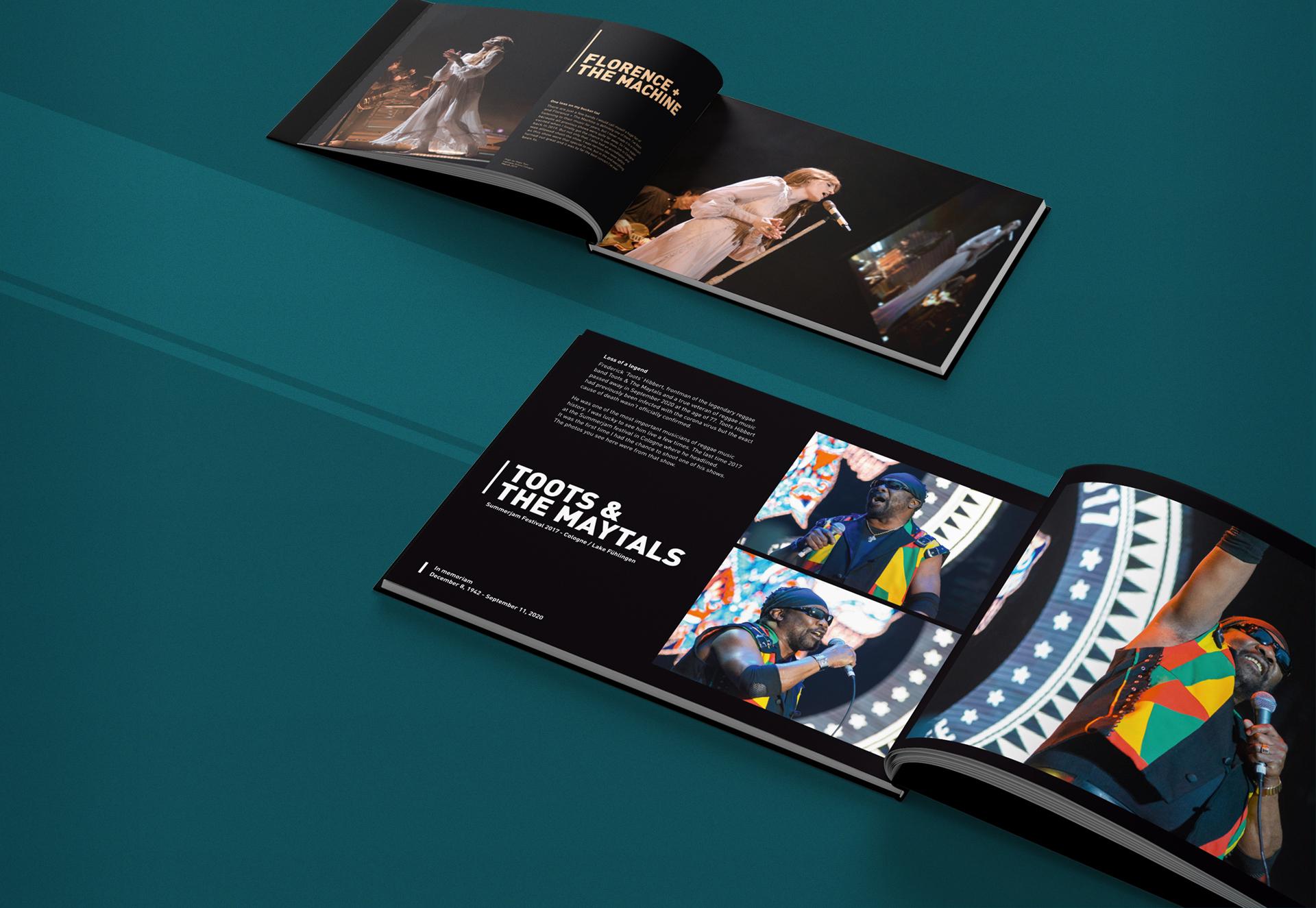 Konzertfotografie Buch (Bildband)